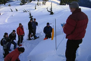 Avalanche Training - AIARE 1