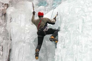 Ice Climbing - Intermediate/Advanced Waterfall Ice