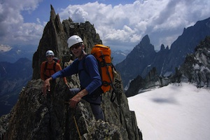 Guided Alpine Climbing in the French Alps/Chamonix