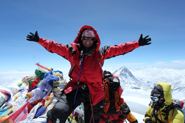 Everest summit in 2013
