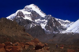 Aconcagua Expedition - Upper Guanacos Traverse