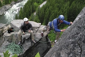 Guided Rock Climbing at Leavenworth, WA