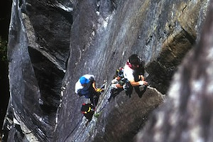 Guided Rock Climbing at Index, WA