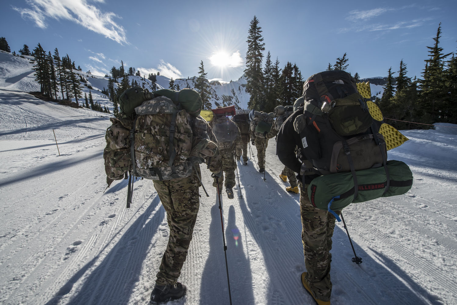 Military And Government Mountain Training American