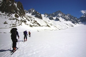 The Haute Route - Guided Hut Skiing in the Alps