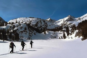Guided Backcountry Skiing & Snowboarding in the Sierras