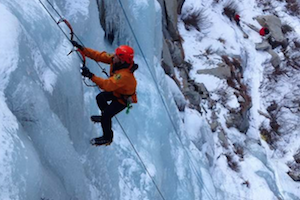 Ice Climbing - Introduction to Waterfall Ice