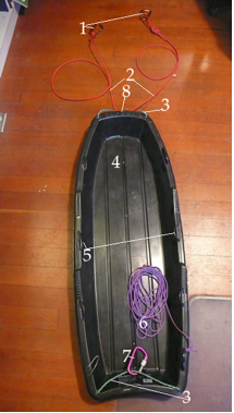 Expedition Sled Diagram