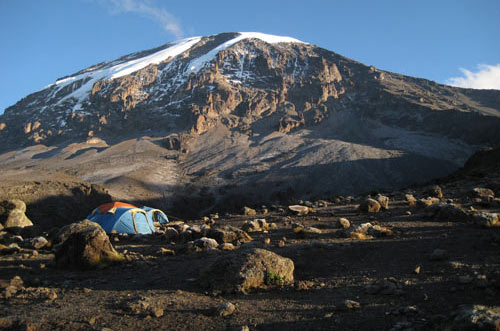 Kili From Karangu Camp