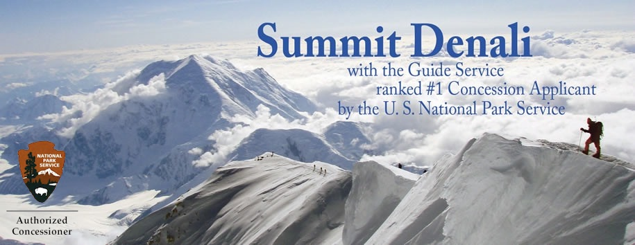 Denali Summit Banner