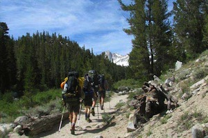 Backpacking in the High Sierra