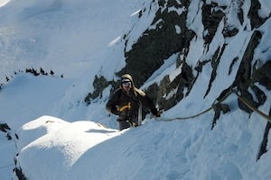 Guided Ice Climbing and Winter Ascents in the Cascades