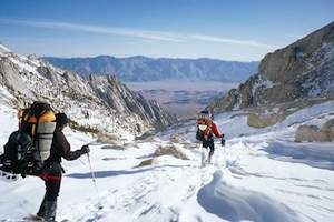 Winter Mountaineering in the Sierra