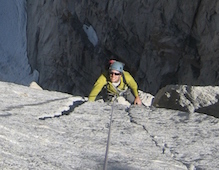 Alpine Rock Climbing