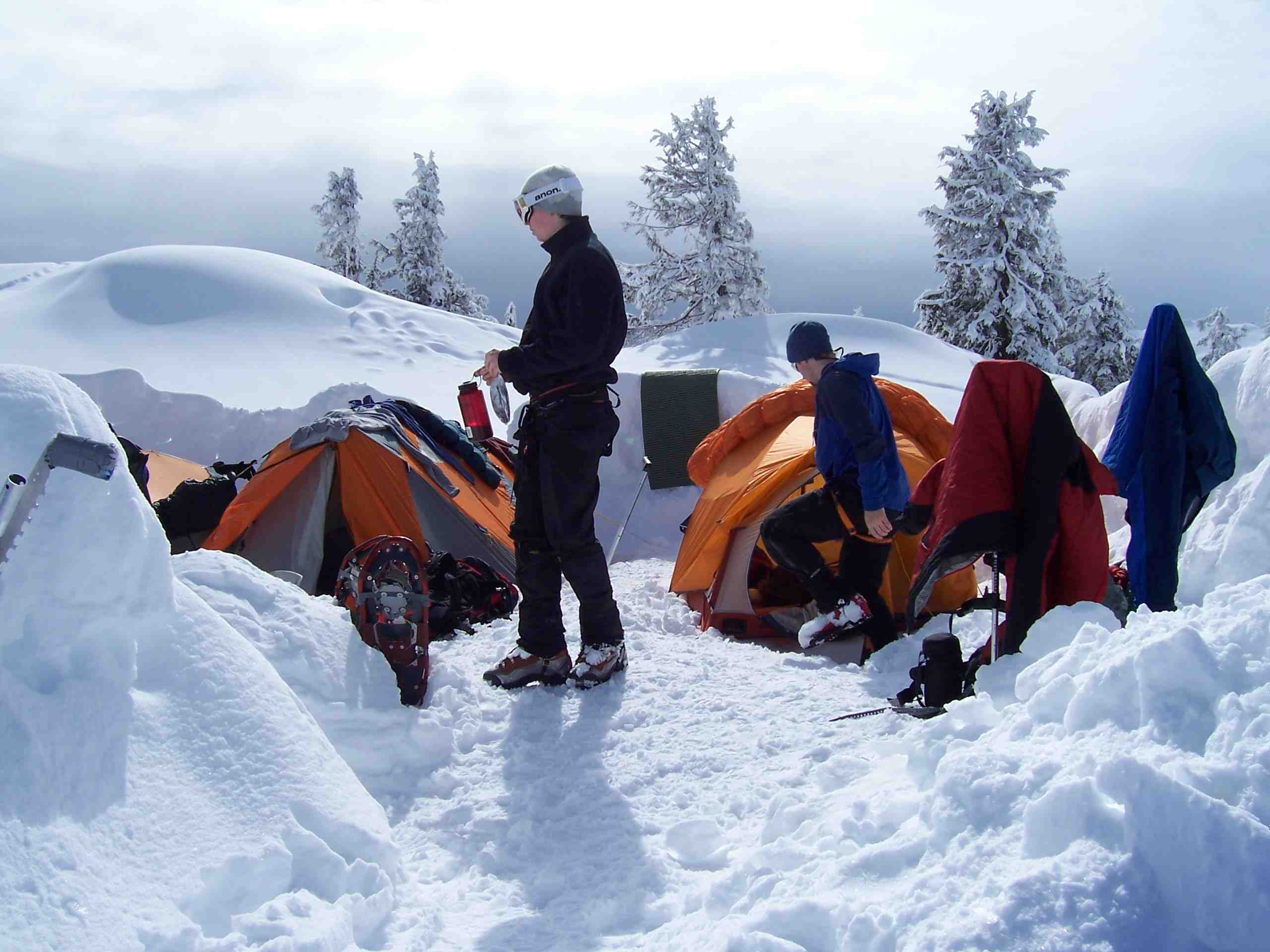 Winter Camping in the Cascades