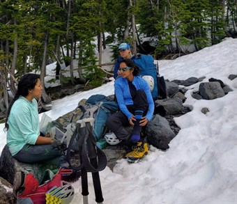 Mt. Baker Women's Climb, Guide Talk