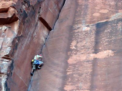 Guided Rock Climbing Red Rock Las Vegas