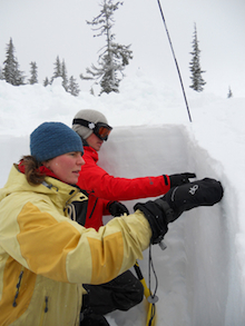 Identifying layers in the snowpack