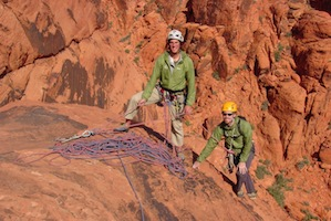 Guided Rock Climbing in Red Rock - Las Vegas, Nevada