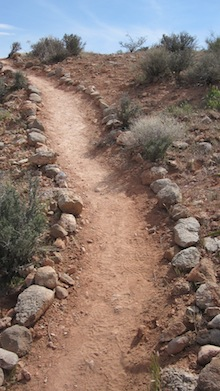 The Kraft Boulder Trail - completed during Red Rock Rendezvous, 2011 by the Las Vegas Climbers' Liaison Council and organized by former AAI  guide, Scott Massey