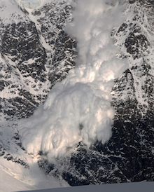 Avalanche awareness is crucial for backcountry travel.