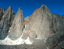 East Face of Mount Whitney.