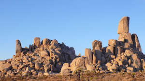 Joshua Tree offers great bouldering as well as countless single-pitch climbs and a number of quality multi-pitch routes.