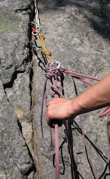 Advanced Mt. Rescue - Rock Rescue systems can look very complex to the untrained eye.