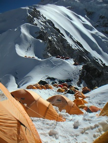 LNT Principles are crucial for minimizing camping and climbing impacts on busy peaks.