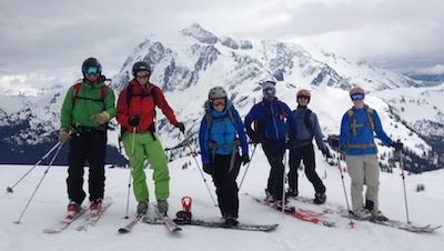 Cascades, Ski - Group